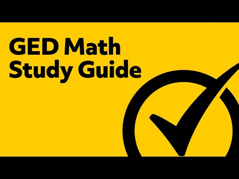 GED Math Preparation [2018] Study Guide