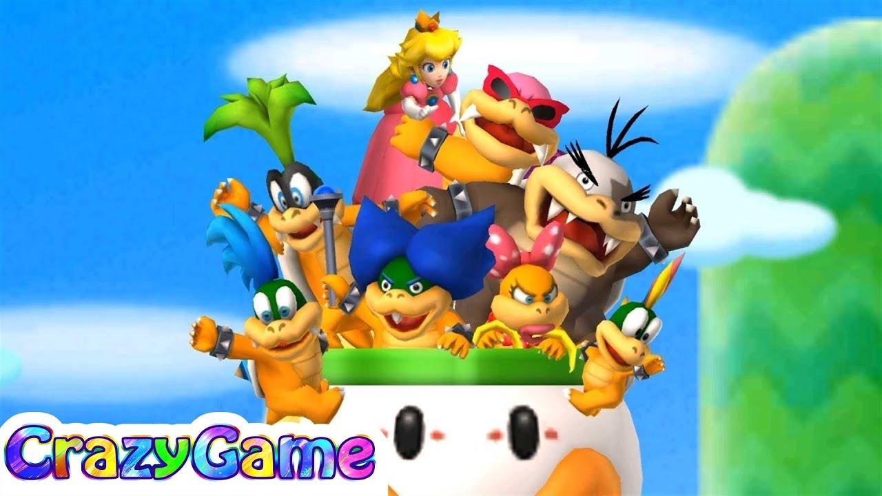 New Super Mario Bros 2 100% Walkthrough #1 (All Star Coins, Secret Exit, 4K  60fps)