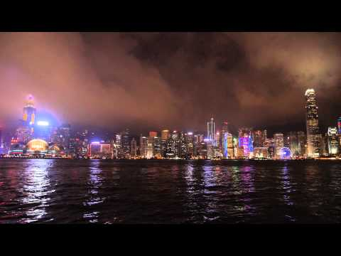 "Hong-Kong ""A Symphony of Lights"" from Avenue of Stars - April 2015"