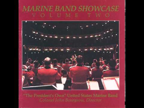 "BENSON The Solitary Dancer - ""The President's Own"" U.S. Marine Band"