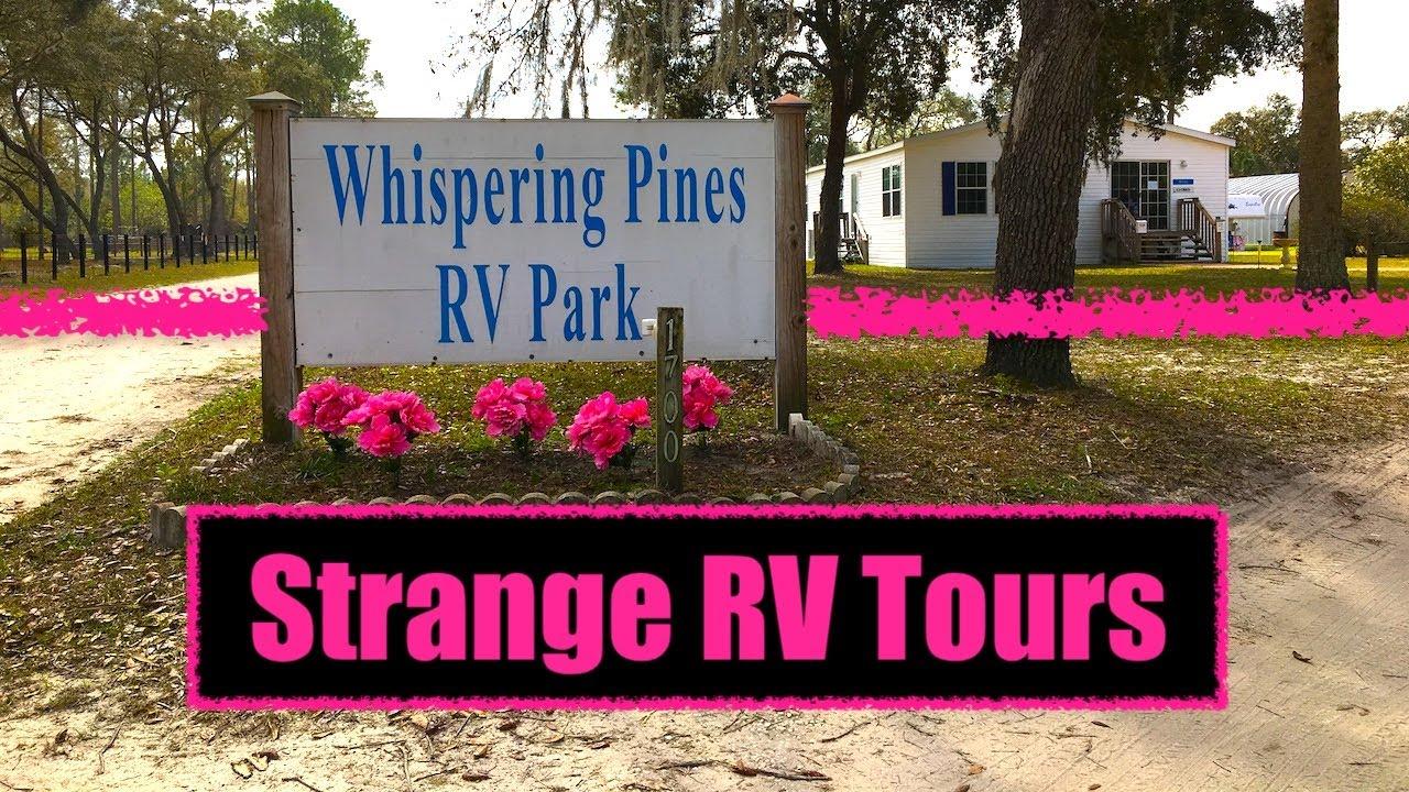 #184 Whispering Pines RV Park - Silver Springs, FL - YouTube