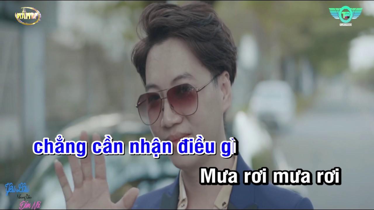 Karaoke Yêu Lâu Nhưng Đâu Dám Nói - Dương Minh Tuấn |  Beat Gốc