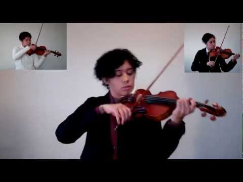 Sherlock's Theme/Taxi Chase (violin) ~ BBC Sherlock