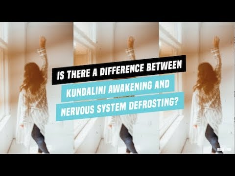 Is a Kundalini awakening same as coming out of the freeze response?