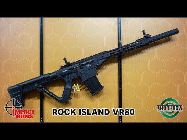 Rock Island Armory VR80, 12 Gauge Shotgun, Mag-Fed, Semi-Auto, 20