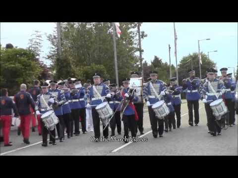 Brookeborough Flute  @ Defenders of the Rock Parade 2015