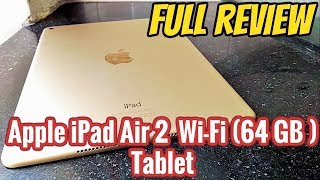 {Hindi} Apple iPad Air 2 (Wi-Fi Only) 64 GB Tablet  (Gold)