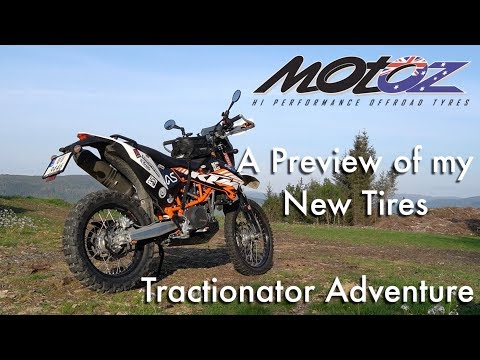 Motoz Tractionator Adventure Preview On KTM 690 Enduro R Norway