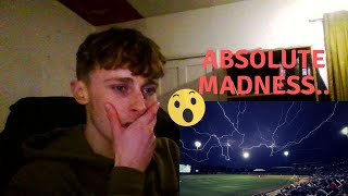 British Soccer fan reacts to Baseball - MLB Insane Weather Moments