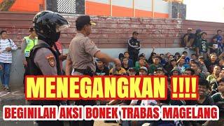 Menegangkan ll Aksi Bonek Trabas Magelang || PSIS Semarang VS Persebaya