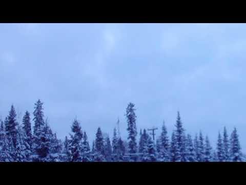 Winter Evening Time Lapse Long Cut Video Wallpaper