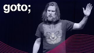 GOTO 2018 • How Beauteous Technology is! O Brave New World • James Governor
