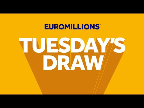 The National Lottery 'EuroMillions' Draw Results From Tuesday 24th March 2020.