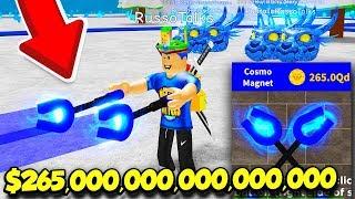 Ho BOUGHT Il NUOVO 265,000,000,000,000 MAGNET In MAGNET SIMULATOR E IT'S INSANE! (Roblox)