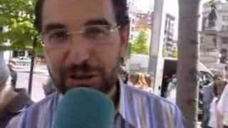 Antonio Gaspar y Carmen Gallego el 23 de abril en Zaragoza