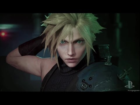 Final Fantasy 7 Remake - Gameplay Trailer - PSX