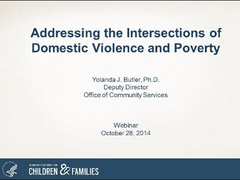 Intersection of Domestic Violence & Poverty
