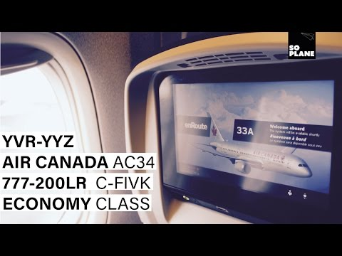 TRIP REPORT | Air Canada | 777-200LR | Vancouver - Toronto | Full Flight