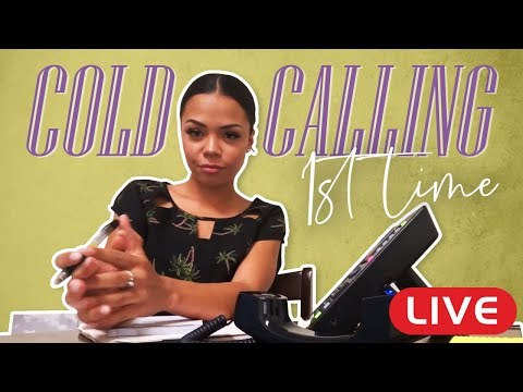 Cold Calling LIVE (New Real Estate Agent)