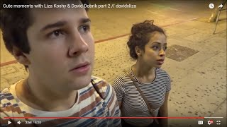 Cute moments with Liza Koshy & David Dobrik part 2 // davidxliza