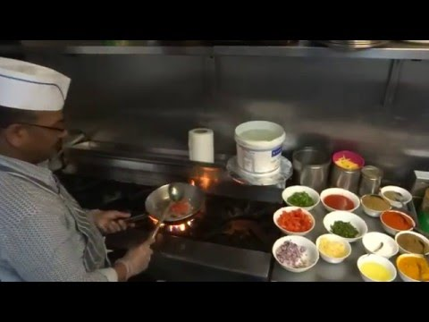 Chana/Chole Masala Restaurant Recipe: Chini Chor Indian Vegetarian Restaurant, Hounslow West, London
