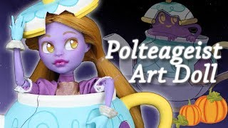 Art Doll Repaint – Polteageist, Haunted Teapot Pokemon!  H...