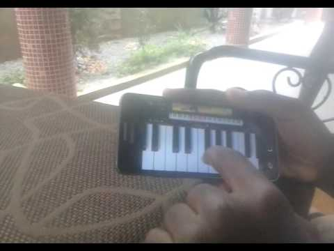 Comment jouer un piano sur téléphone @
