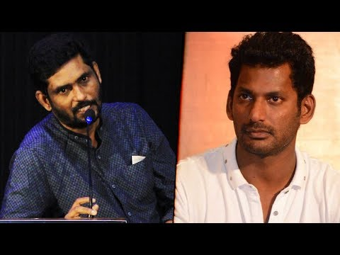 Producer Suresh Kamatchi Slams Vishal & Producer Council | Tamil Rockers |  6 Athiyayam Audio Launch