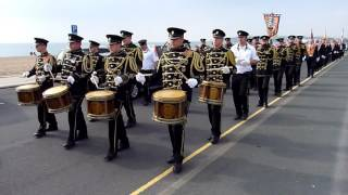 Kilcluney Volunteers Flute Band - Seaford #4 - 36th Ulster Division Memorial LOL 977 - 03/10/2015