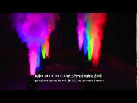 High Power RGB LED CO2 JET Machine
