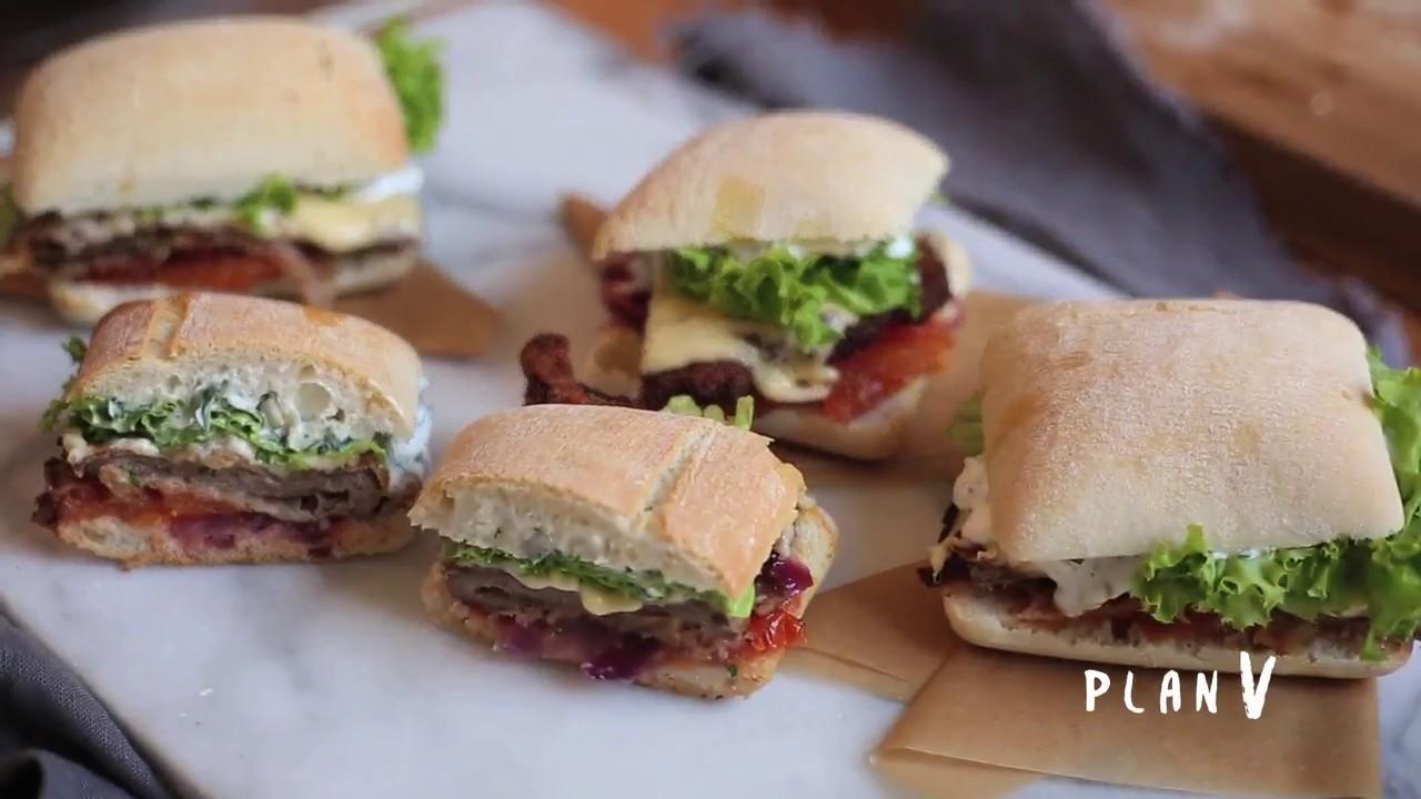 Sandwiches De Milanesas Youtube