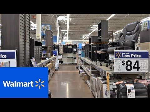 WALMART FURNITURE SOFAS CHAIRS TABLES HOME DECOR SHOP WITH ME SHOPPING STORE WALK THROUGH 4K