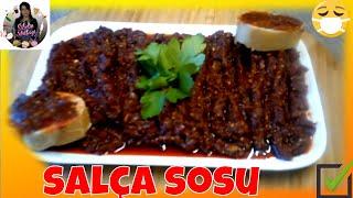 Salça Sos Tarifi Nasıl yapılır Sibelin mutfağı ile yemek tarifleri