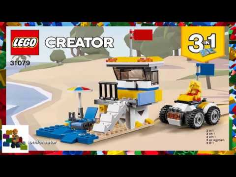 Lego Instructions Creator 31079 Sunshine Surfer Van Book 2
