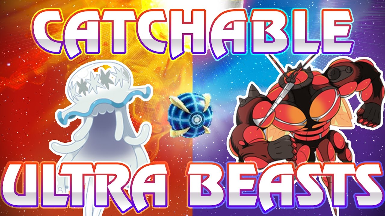 Download CATCHING ULTRA BEASTS! HUGE NEWS! Ultra Beasts Obtainable in Pokemon Sun and Moon, All TMS Revealed!