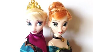 Disney Store Frozen Deluxe Fashion Doll Set 2013 review
