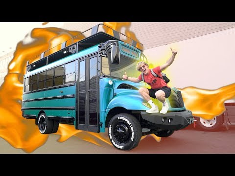 Thumbnail: THE COOL BUS IS FINISHED! **national TV**