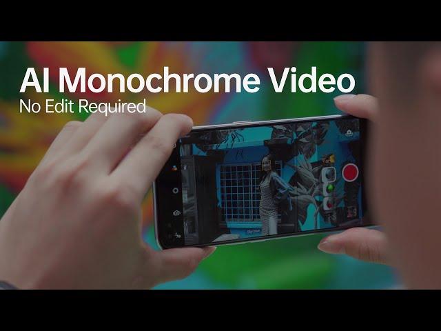 OPPO Reno4 | OPPO Reno4 Pro | AI Monochrome Video