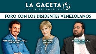 Foro con disidentes venezolanos I Fraude chavista a la vista