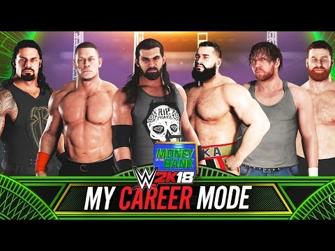 WWE 2K18 My Career - Ep 13 - MONEY IN THE BANK MATCH!!
