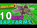 Top 10 Best Places/Ways to Farm Experience in Borderlands 2 (Best XP Solo/Co-Op Farms) #PumaCounts