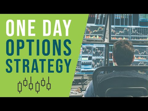 An Effective One Day Options Strategy