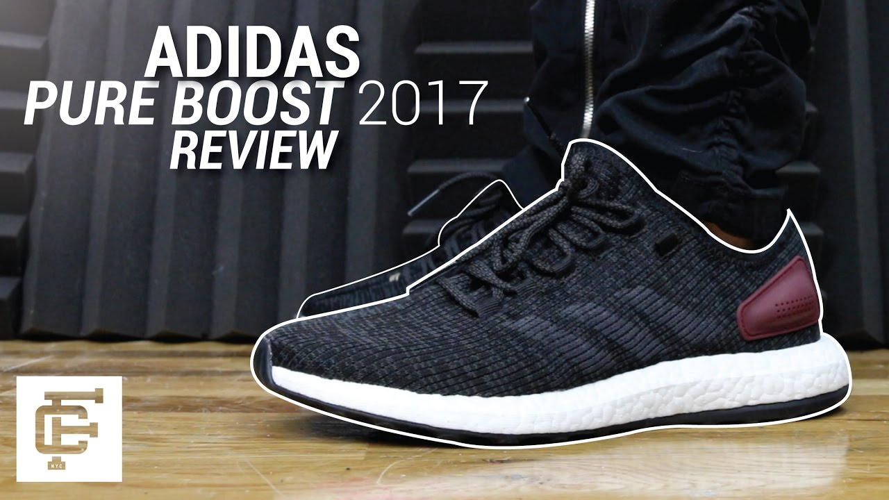 new style 383fc 4ba40 ADIDAS PURE BOOST 2017 REVIEW - YouTube