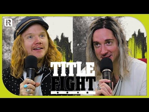 How Many Underoath Songs Can Spencer Chamberlain & Aaron Gillespie Name In 1 Minute?  Title Fight