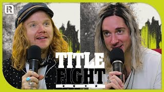 How Many Underoath Songs Can Spencer Chamberlain & Aaron Gillespie Name In 1 Minute? - Title Fight