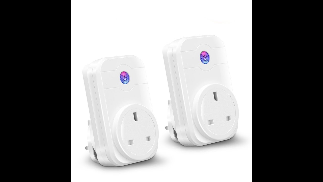 YTE SWA-1 Wifi Smart Plug for Alexa Google Assistant, 2 pack