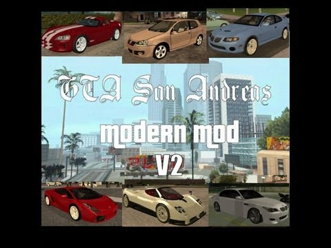 GTA San Andreas: Modern Mod V2 Download HD - YouTube