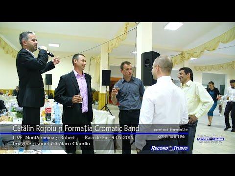 Catalin Rosoiu si Formatia Cromatic Band - Colaje LIVE 2015 Nunta Simina si Robert 9-05-2015