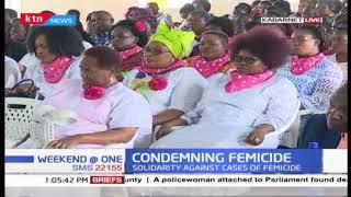 25 Women reps condemn rise in femicides