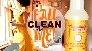 FALL 2019 CLEAN WITH ME! WEEKLY CLEANING ROUTINE FOR APPLE AUTUMN DAYS�